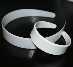 """7/8"""" Plastic Headband 18"""" Doll Size. $3.50 for 1 doz.  Purchase includes tutorial."""