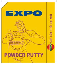 HÀ NỘI Expo Powder Putty For Interior & Exterior