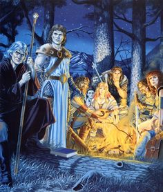 In the history of Fantasy Art, Larry Elmore is a giant. His work has been seminal to what Dungeons & Dragons and American Fantasy would. Dungeons And Dragons Art, Dungeons And Dragons, Fantasy, Fantasy Artwork, Dragonlance Chronicles, Fantasy Creatures, Fantasy Rpg, Art, Medieval Fantasy