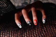 Nail Art For Beginners - Spider Web Nail Art