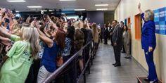 La photo d'une foule tournant le dos à la candidate démocrate a été largement diffusée et surinterprétée, occultant le fait que l'opération était avant tout un moyen de faire parler d'elle.