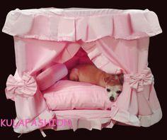 Princess Pet Dog Cat Handmade Bed House Pink Color Size Medium | eBay1023 x 857 | 88.4 KB | www.ebay.com.au
