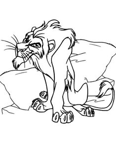 Printable Timon Pumbaa Lion King Coloring Sheet Printable