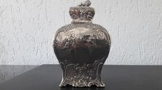 Zilveren Theebus, importeur Samuel Boyce Landeck, Chester, 1902