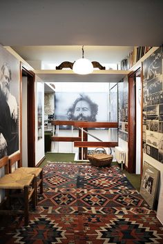 "subtilitas: "" Fernando Higueras - La Cueva, the architect's underground house (and now foundation for the architect's work), Madrid 1972. Via, 2, photos © Lola Botia, Carlos Copertone. """