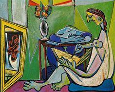 A muse - Pablo Picasso
