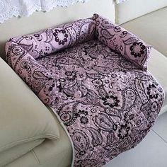 sofá-cama do cão de