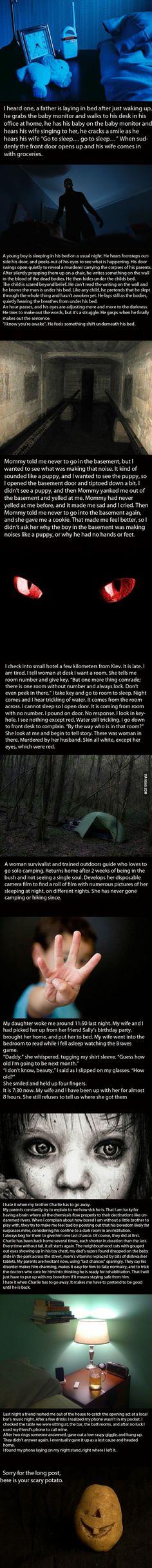 Creepy.