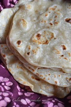 Tortillas de Harina {Flour Tortillas} - The Culinary Chronicles