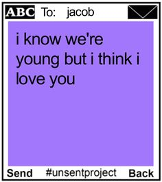 Unsent Purple – THE UNSENT PROJECT Crush Quotes, Mood Quotes, Love You, Just For You, My Love, Pretty Words, Relationship Goals, Relationships, Hopeless Romantic