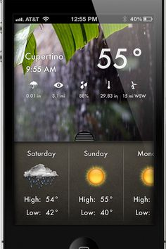 Weather 2x by McLean Mobile Solutions