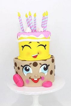 Pin for Later: These Are the Ultimate Shopkins Birthday Cakes That Are Too Sweet to Eat