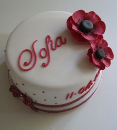 Sofia christening cake by Bath Baby Cakes, via Flickr    Love this