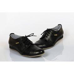 Női bőr gyaloglást fekete DT224 - manozo.hu Men Dress, Dress Shoes, Derby, Jazz, Oxford Shoes, Lace Up, Women, Fashion, Moda