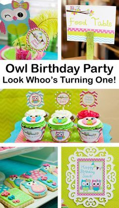 Look Whoos One Owl Party Planning Ideas Supplies Idea Cake Decor