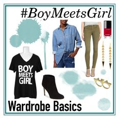 """#WardrobeBasics"" by boymeetsgirlusa ❤ liked on Polyvore featuring Topshop, Sam Edelman, rag & bone/JEAN, Chanel, nordstrom and colette"