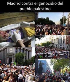 Madrid contra el genocidio en Palestina