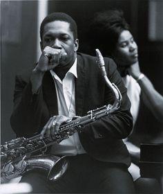 singinginthewire:  John Coltrane & Alice Coltrane