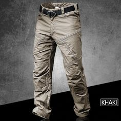 Outdoor Waterproof Quick Dry Stalker Slim Tactical Pants Spring Autumn Training Climbing Breathable Long Cargo Trousers Overalls color: Due to the effects o Mens Tactical Pants, Tactical Belt, Waterproof Pants, Pantalon Cargo, Type Of Pants, Unisex, Cargo Pants, Denim Pants, Daily Wear