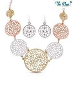 Pari Exclusive Rhinestone Studded Necklace Set  http://www.snapdeal.com/products/jewelry