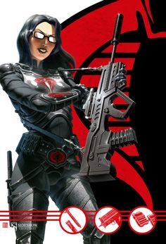 G.I. Joe Cobra Key Art for Sideshow Collectibles