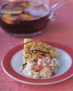 Chunky Bean Dip Recipe | Martha Stewart Living — You'd never guess that this dip qualifies as a healthy snack.