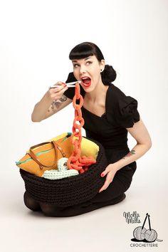 Nella valigia della Buru: Tutorial: come realizzare catene all'uncinetto - crochet free tutorial chain link