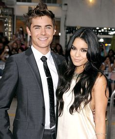 Couple off, always remembered because first mate each other: Zac Efron and Vanessa Hudgens