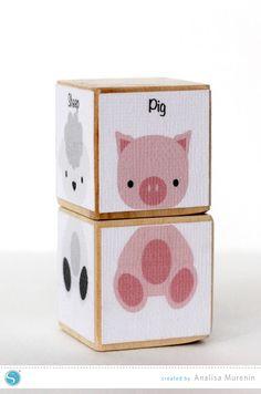 Animal Blocks | Analisa Murenin for Silhouette