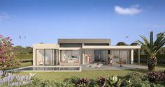 Contemporary design luxury villa