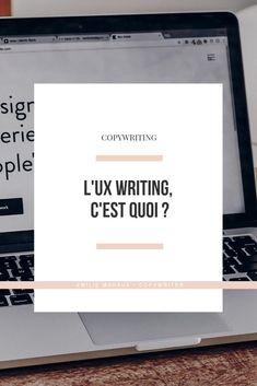 L'UX writing, une nouvelle branche du Copywriting 🖍 - Emilie Mahaux Content Marketing, Digital Marketing, Creation Site, Web Seo, Creer Un Site Web, Page Web, Web Design, Community Manager, Site Internet