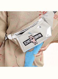 Pink Turtle Flovwers Sport Waist Bag Fanny Pack Adjustable For Travel