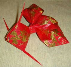 Origami tutorial gold packet gold fish video tutorial for Ang pow koi fish tutorial