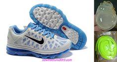 Nike Womens Air Max 2011 White Jade Black Running Shoes