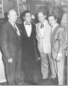 Nashville booking Agent, Hubert Long : Elvis Presley : Colonel Parker : Faron Young
