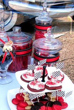 """Photo 3 of 71: Disney Pixar Car's Party / Birthday """" Raceway""""   Catch My Party"""