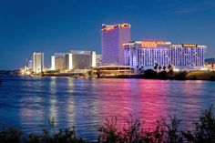 Laughlin, NV  Been there a couple of times. A mini Vegas.  Lots of fun!
