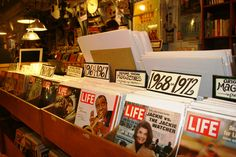 Vintage Magazines, Graphic Art, Posters at Old Seattle Paperworks