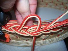 NÁVODY | COP - UKONČENÍ VEN Z KOŠE | pedig, dýnka, korálky, ubrousky,koše, kurzy, fotonávody Baskets, Crafts, Crochet Tablecloth, Towels, Hampers, Basket, Bag, Manualidades, Handmade Crafts