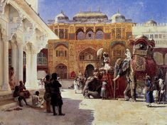 The Rajah at the Palace of Amber  Edwin Lord Weeks (American, 1849-1903)
