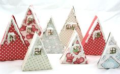 Linda Brun Poppydesign Paperhouse advent calendar house xmas