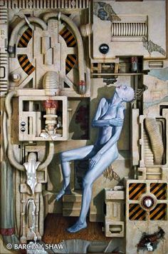 """""""Work in Progress"""" by Barclay Shaw - his  only one good piece."""