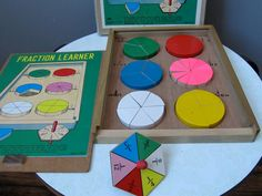 Shackman Fraction learner Wood Educational Toy — Japan