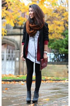 New-look-boots-primark-scarf-forever-21-cardigan