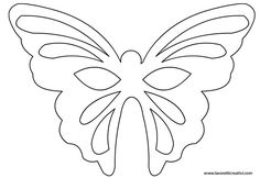 Maschera Farfalla: sagoma in carnevale