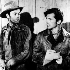 Henry Fonda and Dana Andrews in THE OX-BOW INCIDENT ('43)