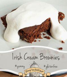 gluten free irish cream brownie!