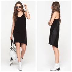 NWT $450 Rag & Bone Black Chieftan Dress Rag & Bone Chieftan Dress in Black. Sleeveless black dress with textured side panels. Lined. Pull on. Beautiful style. Retails for $450! rag & bone Dresses High Low