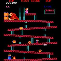 Donkey Kong... this was a one-screen-at-a-time game... Can you imagine what a revolution it was to see Super Mario Brothers, with its scrolling background? It was intense!
