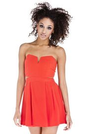 Strapless Cutout Dress — great for graduation weekend! So soon, ahh!